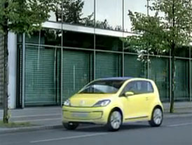 Video: Volkswagen E-Up! – Prozatím jen koncept