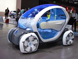 Renault Twizy Z.E.: Elektrický skútr na čtyřech kolech