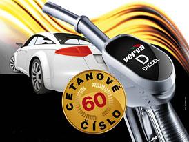 Benzina vylepšila prémiovou naftu Verva Diesel, cena se nemění