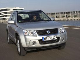 Suzuki Grand Vitara: Benzinové čtyřválce levnější o 50 až 70 tisíc Kč (pětidveřová za 539.900,- Kč)