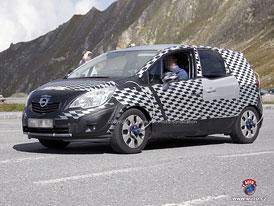 Spy Photos: Opel Meriva se představí v Ženevě