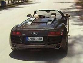 Video: Audi R8 Spyder – Novinka s plátěnou střechou