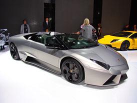 Lamborghini Reventón Roadster: Stíhačka bez střechy