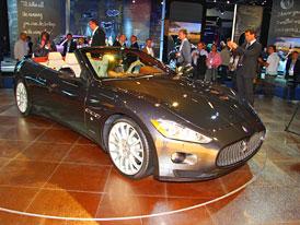 Maserati GranCabrio: GranTurismo odhodilo st�echu
