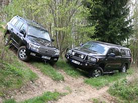 Test: Toyota Land Cruiser vs. Toyota Tundra