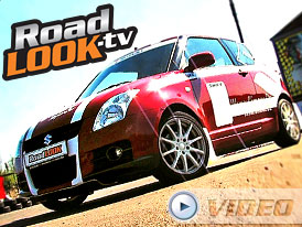 Suzuki Swift Sport: Hanička a motokára (Roadlook TV)