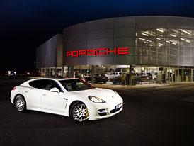Porsche otevře v Praze nové centrum za 150 milionů Kč