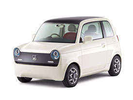 Honda EV-N: Elektromobil s retro-vzhledem