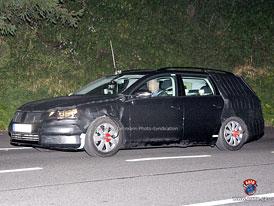 Spy Photos: Volkswagen Passat se brzy dočká designové modernizace