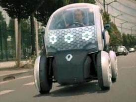 Video: Renault Twizy Z.E. – Koncept malého elektromobilu