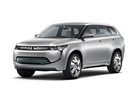 Mitsubishi PX-MiEV: Útulný hybridní crossover
