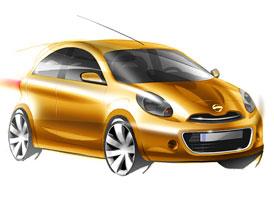 Nissan Micra (4. generace): První skici a informace