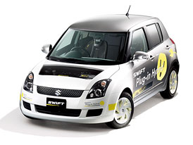 Suzuki Swift Plug-in Hybrid: Svišť do zásuvky