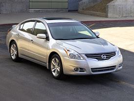 Nissan Altima: Americký facelift pro rok 2010