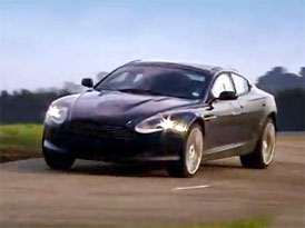 Video: Aston Martin Rapide – Testování nového modelu