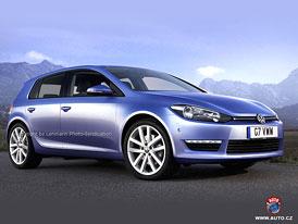 VW Golf VII přijde na trh na konci roku 2012