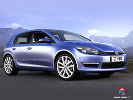 Spy Photos: Volkswagen Golf VII - První skici