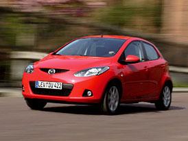 Mazda2 Premium za 299.900,- Kč: 63 kW, 6 airbagů, aut. klimatizace, rádio s CD+MP3 v ceně