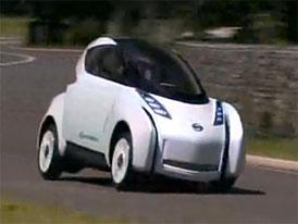 Video: Nissan Land Glider Concept – kříženec automobilu s motocyklem