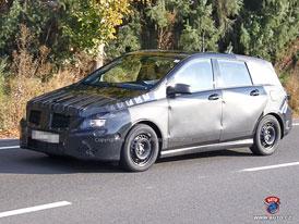 Spy Photos: Mercedes-Benz B - Míří do nižší střední?