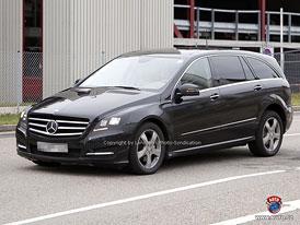 Spy Photos: Mercedes-Benz R - Hrany téměř bez kamufláže