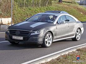 Spy Photos: Mercedes-Benz CLS - Druhá generace