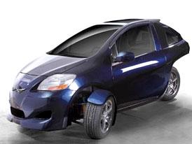 Arcimoto Pulse: Tříkolový elektromobil pro rok 2010