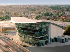 West London Audi: Největší showroom Audi na světě není v Německu, ale v Anglii