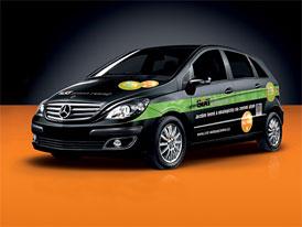 Sixt Green Rent: Autopůjčovna nabízí Mercedesy na CNG