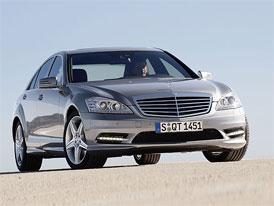 Český trh v červenci 2011: Mercedes-Benz S v čele, VW Phaeton v TOP 5 luxusní třídy