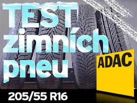 ADAC Testy zimních pneumatik 2009:Rozměr 205/55 R16 H