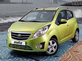 Chevrolet Spark: Nov� generace nese v Koreji n�zev Daewoo Matiz Creative (nov� fotografie)