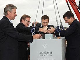 Mercedes-Benz začal stavět v Maďarsku, výroba příští třídy A zde začne v roce 2012