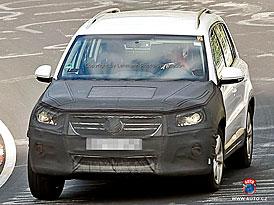 Spy Photos: Přísnější pohled i pro Volkswagen Tiguan
