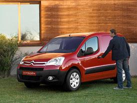 PSA Peugeot Citroën začal prodávat elektrické dodávky