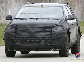 Spy Photos: Ford Edge - U.S. Crossover se dočká modernizace