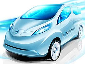 Nissan NV200 EV: Elektřinou poháněná dodávka