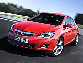 Opel Astra 1,4 (74 kW) za 334.800,-Kč vč. klimatizace a rádia