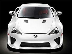 Lexus LFA: 4,8 l, V10, 412 kW, 480 Nm, žádné elektromotory