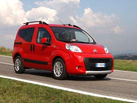 Fiat Qubo Trekking: Outdoorová kostka přichází na italský trh