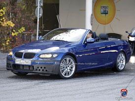 Spy Photos: BMW 3 Coupé - Retuše také pro dvoudveřové otevřené trojky