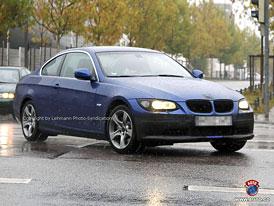 Spy Photos: BMW 3 Coupé - Retuše také pro dvoudveřové trojky