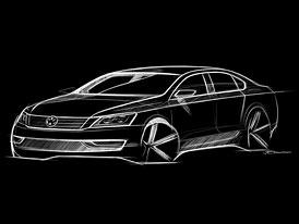 VW Passat pro USA: Nová skica modelu NMS