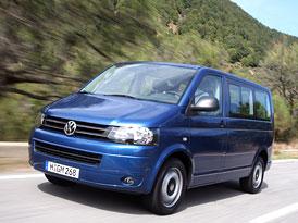 VW Transporter 2010 na českém trhu: Kompletní informace, technická data, ceny, výbavy