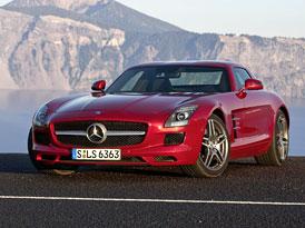 Mercedes-Benz SLS AMG: Nové fotografie, podrobný popis