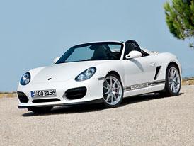 Porsche Boxster Spyder: Odlehčení a retro styl