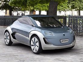Renault začne vyrábět elektromobil Zoé nedaleko Paříže v roce 2012