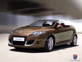 Spy Photos: Renault Megane CC - Nové kupé-kabrio pro sezónu 2010 (nové foto)