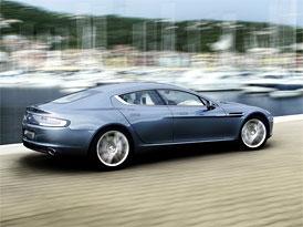 Aston Martin Rapide: Nové fotografie čtyřdveřového kupé