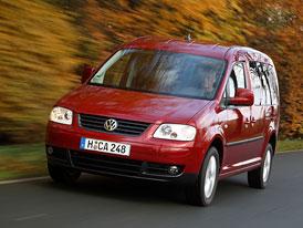 VW Caddy Maxi také s pohonem všech kol 4Motion